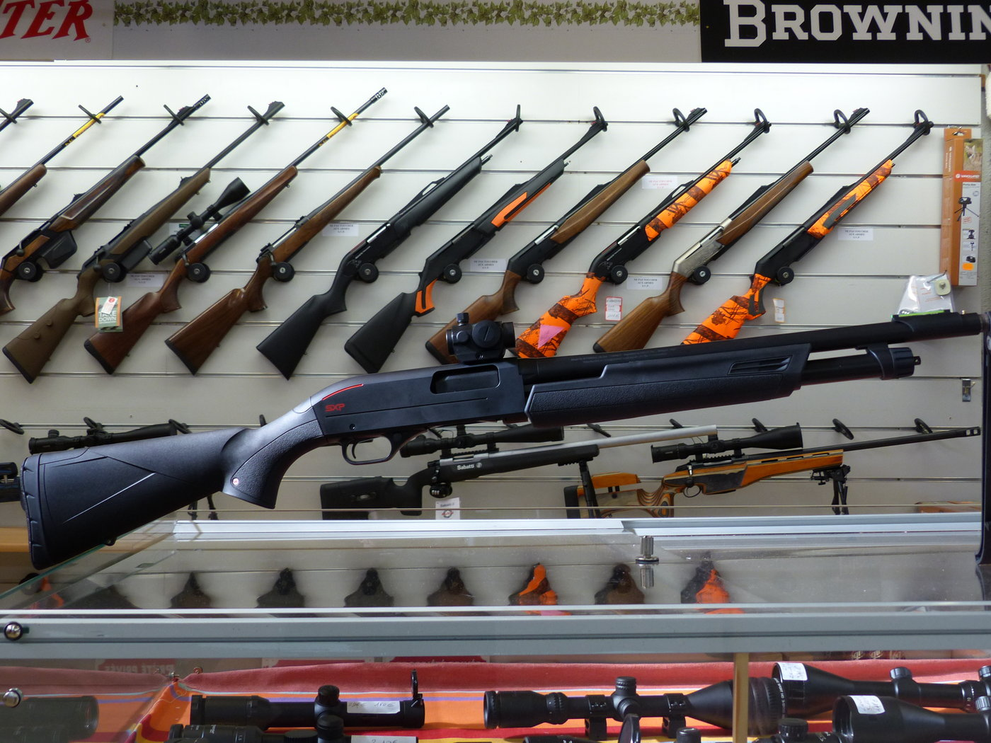 Winchester SXP Tracker pack point rouge