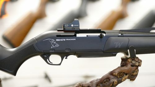 Winchester SXR Black Tracker- Pack point rouge