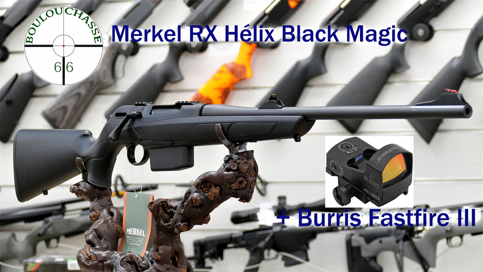 Merkel RX Hélix Black Magic