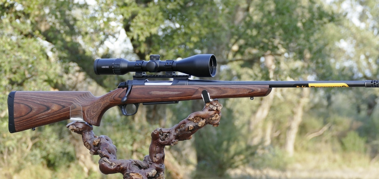 Browning A Bolt 3 Hunter Laminated Brown Filetée