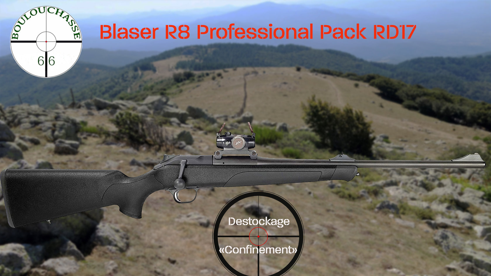 Blaser R8 Professional Black Edition